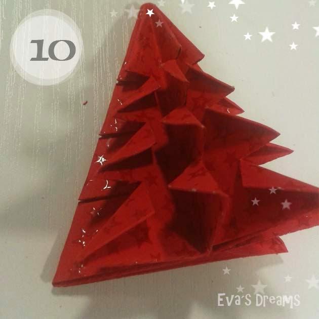 DIY: Origami Tannbaum 2.0 - Step10