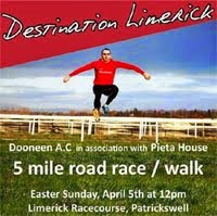 New 5 mile race in Limerick...Sun 5th Apr