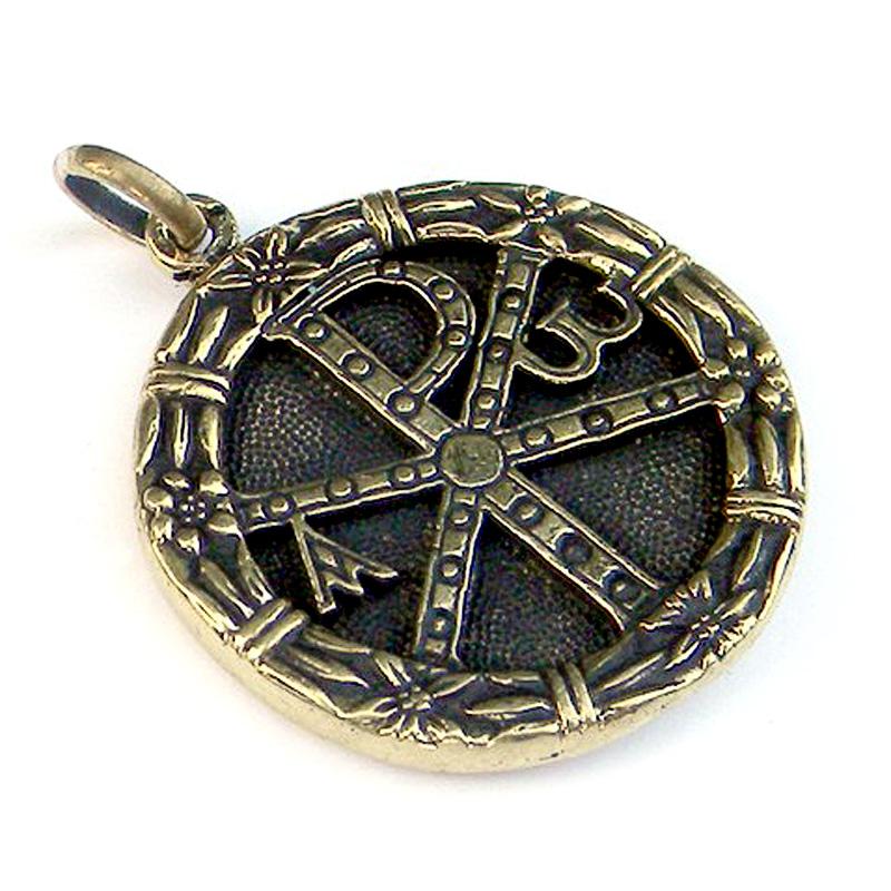 купить кулоны христианская тематика опт хризма серебро