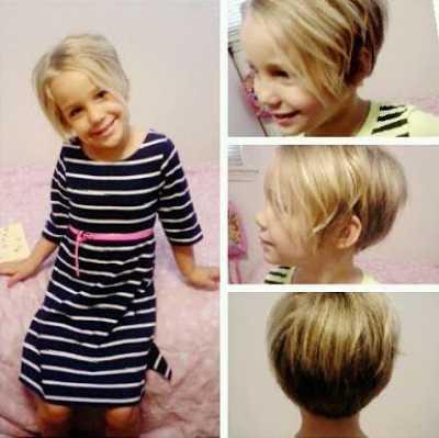rambut pixie anak perempuan 2015987