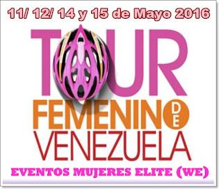 Tour Femenino Venezuela2016