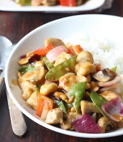 cashew chicken in sichuan sauce recipe