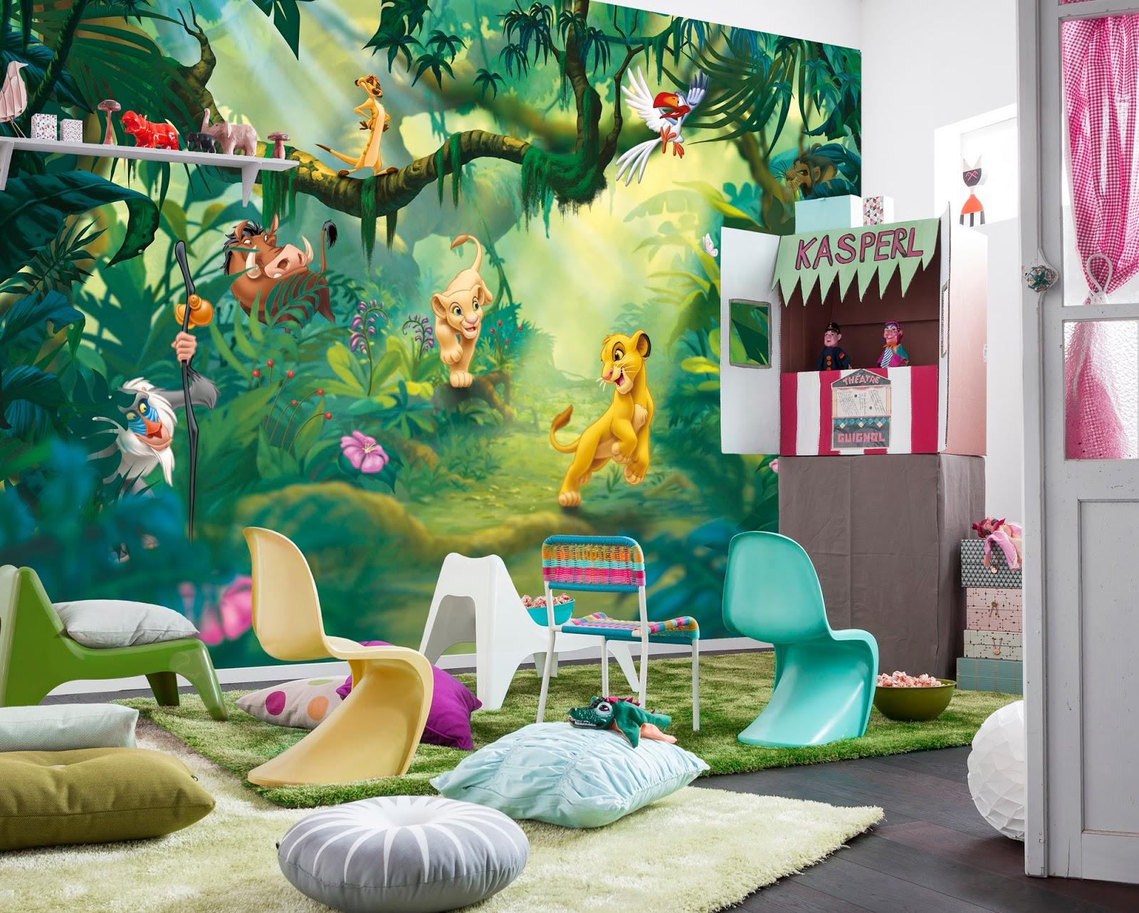 papel pintado: Fotomurales Infantiles Disney Komar