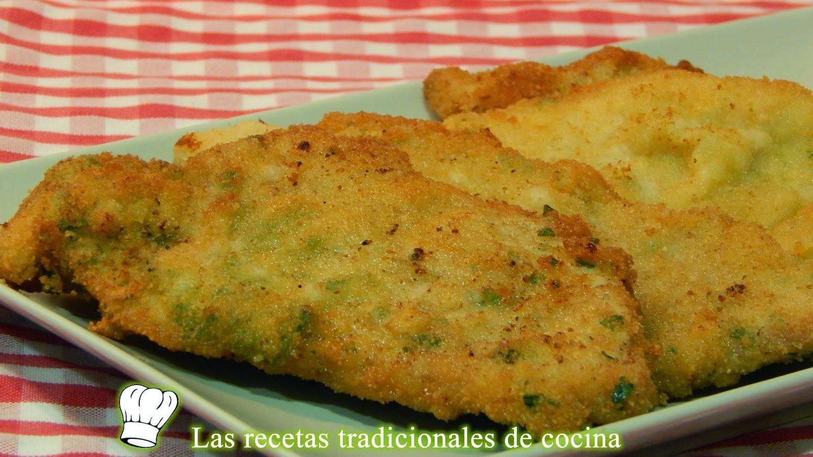 Receta fcil de filetes de magro empanados Recetas de cocina con