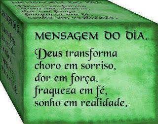 Mensagem Facebook de Deus