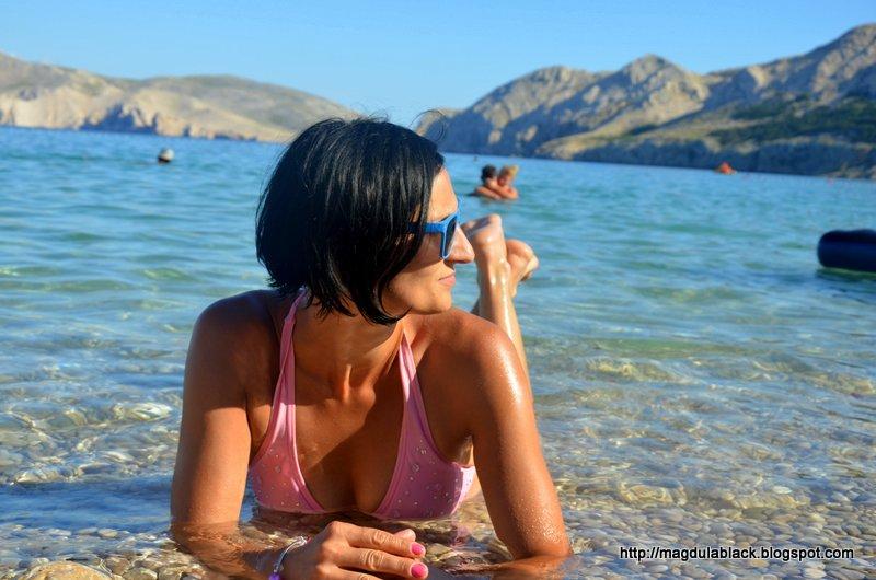 Najczystsza plaża Baška – raj na wyspie Krk część 1