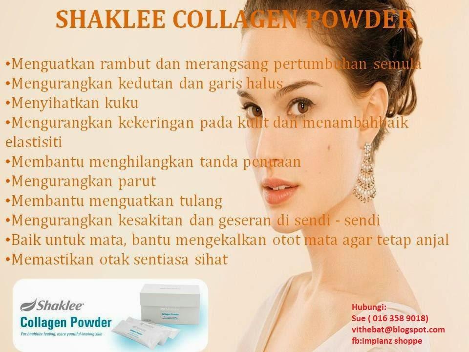 manfaat collagen shaklee