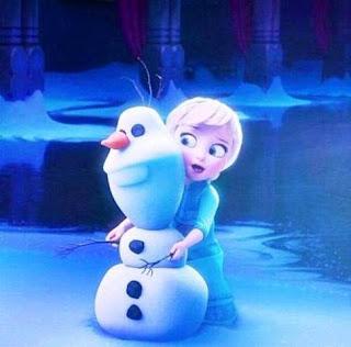 Foto Elsa Frozen Kecil