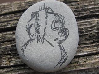 камешки, рисунки на камнях, узоры на камушках, разрисованные камни