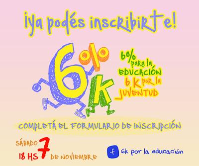 6k por la educación 6k por la juventud (Udelar a Palacio Legislativo, 07/nov/2015)