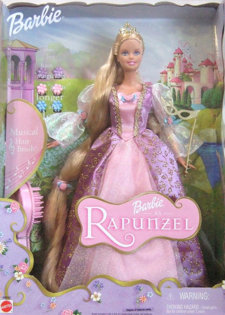 Barbies des films 02 barbie princesse raiponce 2002 - Caleche barbie ...