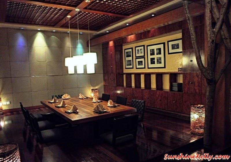 Genji Japanese Restaurant, Hilton Petaling Jaya, Osaka Tokyo Menu, Japanese Food, private dining room