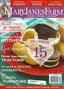 Our Clothespins Are Mentioned In The Feb/March 2015  Issue of<br>Mary Jane's Farm.
