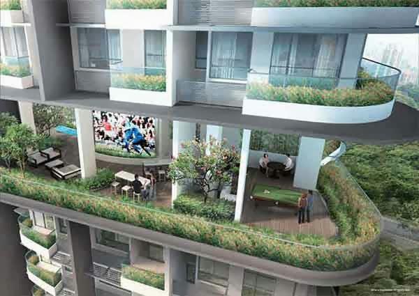 Espada Penthouses Floor Plans