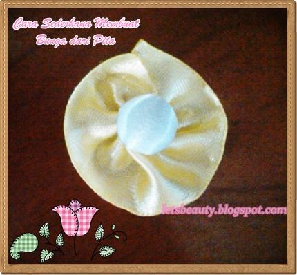 bunga reben tutorial hari ini ialah bunga telur bunga reben