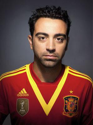 camiseta selección española Copa Confederaciones Xavi 2013