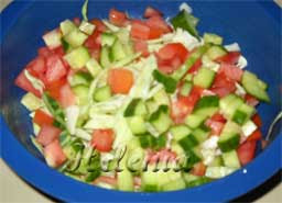 овощи для салата