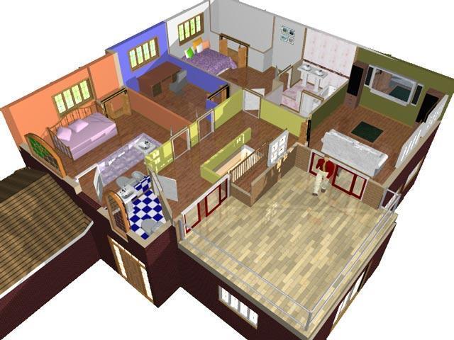 Planos de casas modelos y dise os de casas enero 2013 for Casas sencillas y economicas