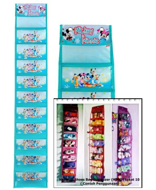 Hanging Shoes Organizer (HSO) Karakter