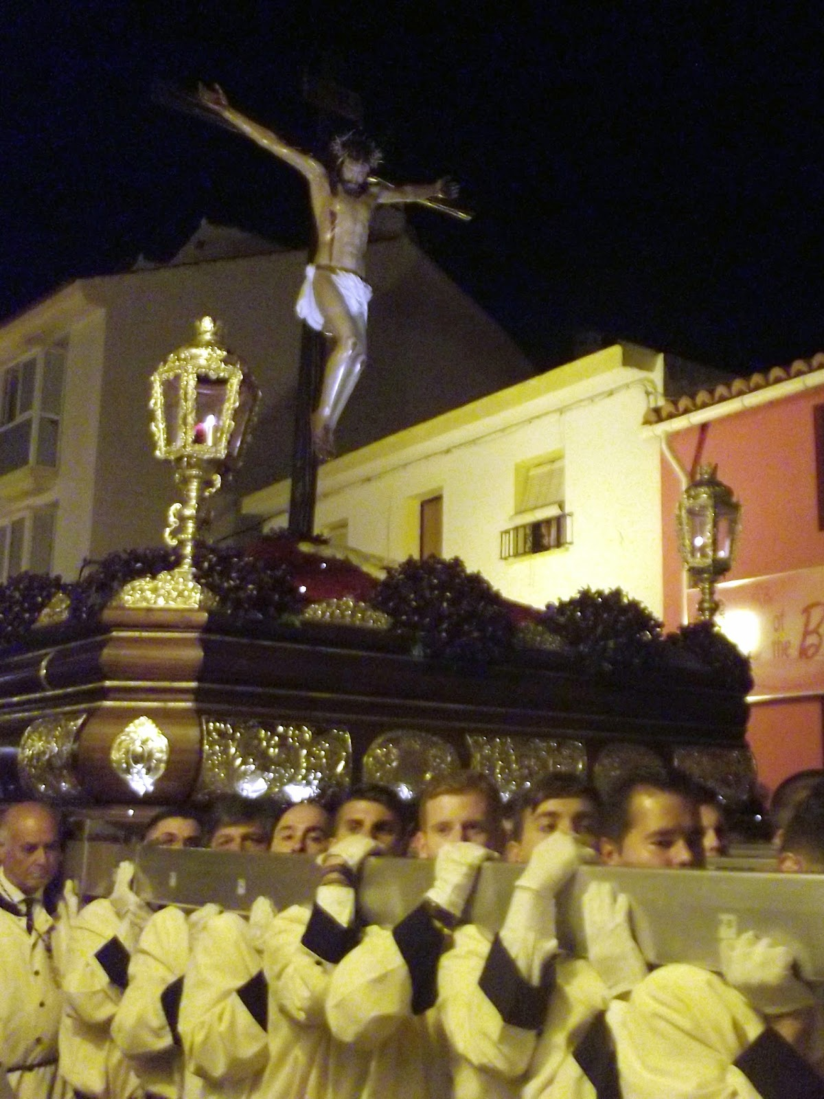 Holy Week, Passion Week, Semana Santa Malaga Processional Good Friday Tronos
