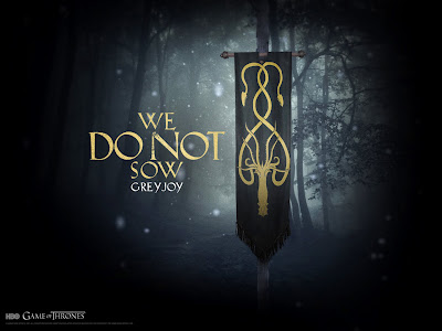 Wallpaper: Game of Thrones - Casa dos Greyjoy