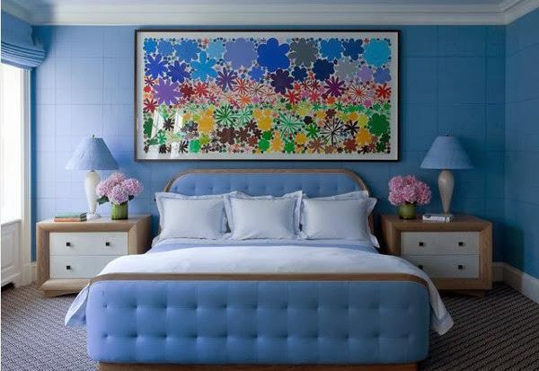 Chambre Bleu Adulte. Chambre Bleu Bois Chambre Design Exemples De ...