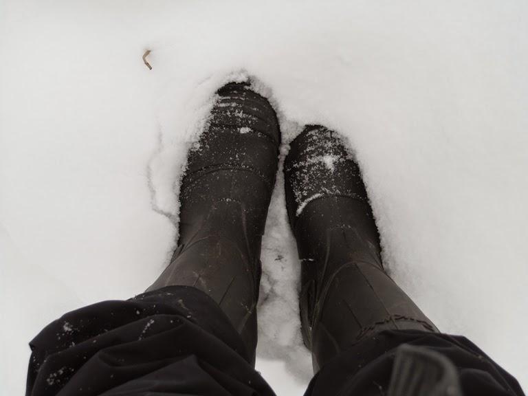 Io a Ilnestorp con i miei super stivali!