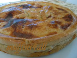 torta rustica con ripieno affumicato