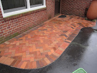 how to clean mildew from brick pavers