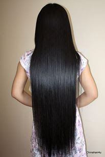 girl long haircut