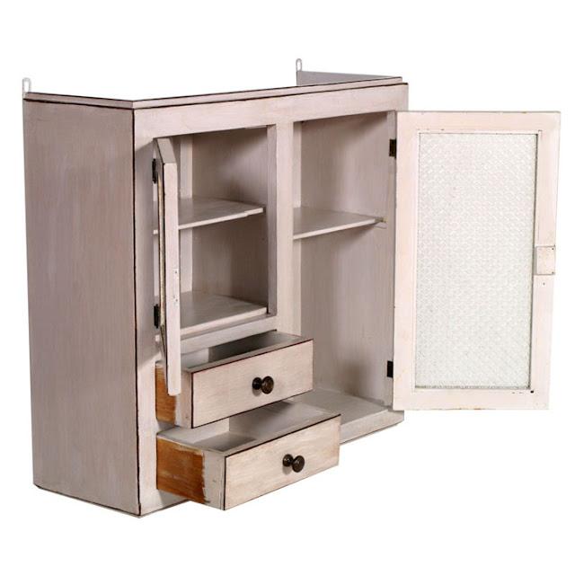 Mobili shabby chic atelier myartistic vetrina da cucina - Decapare mobili ...