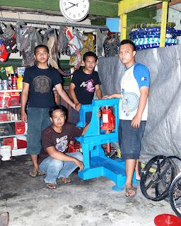 press velg racing motor