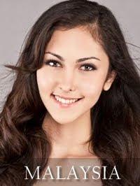 Miss Malaysia Kimberley Leggett