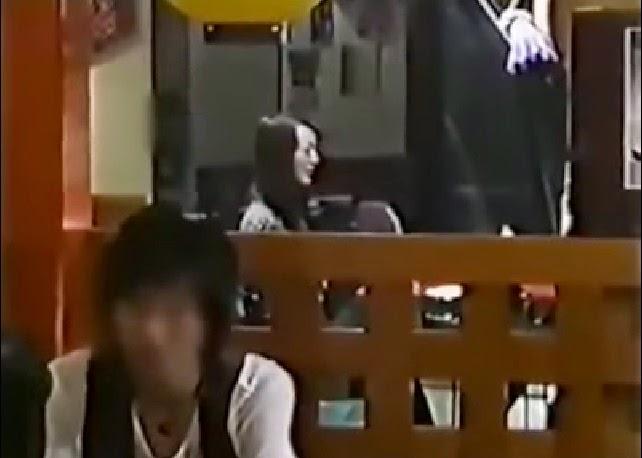 VIDEO Hantu Jepun Menyeramkan Di Kesan Menerusi Rakaman Telefon