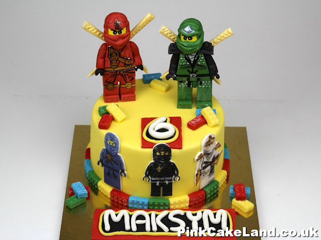 Ninjago Birthday Cake delivered in London