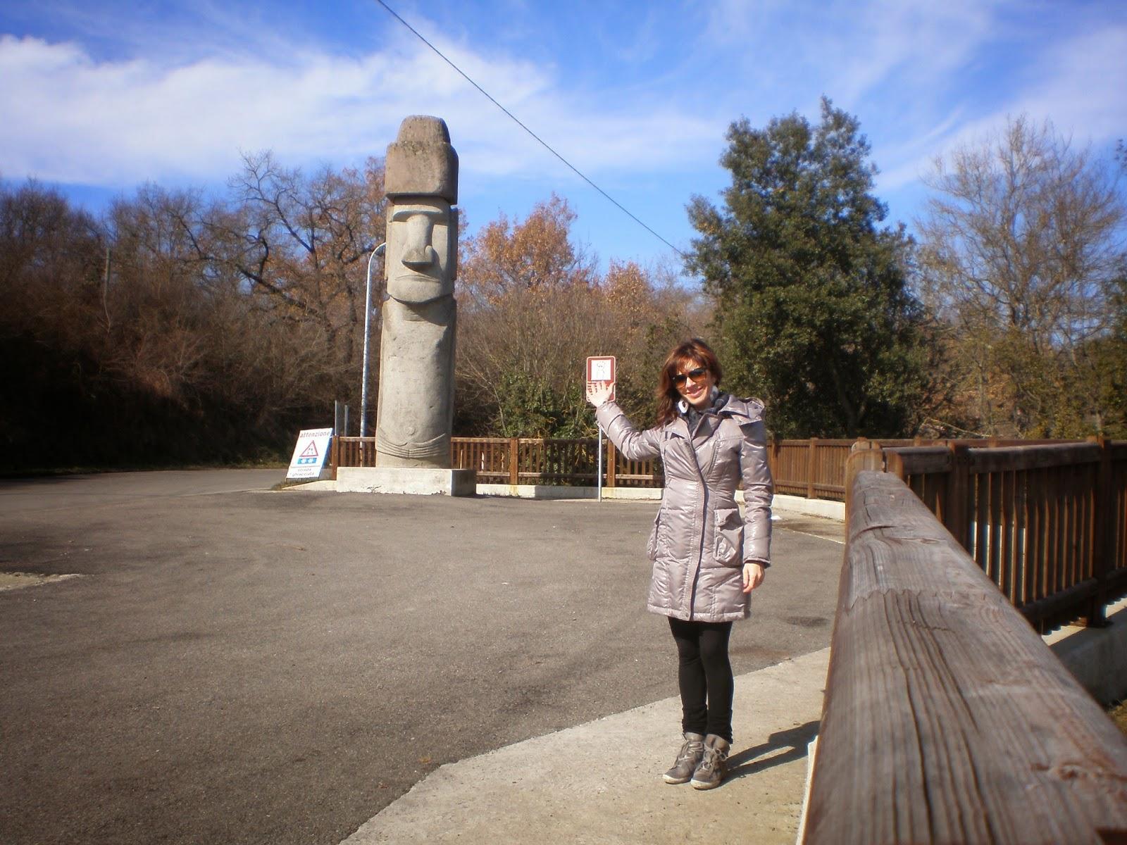 The Italian Moai
