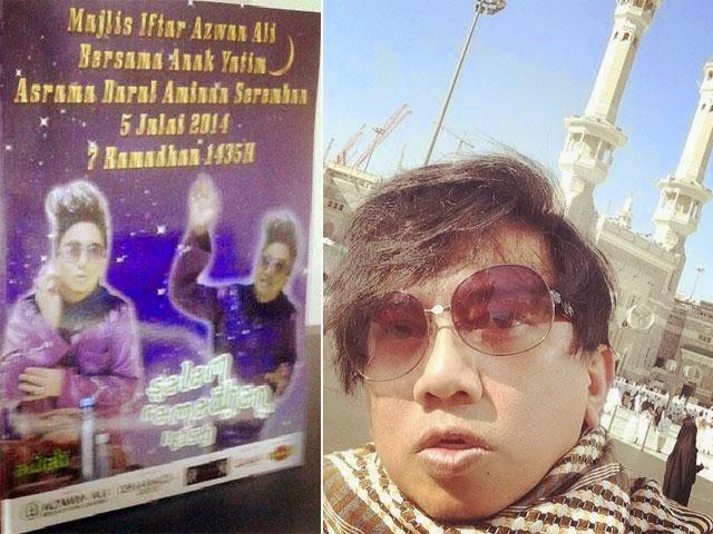 Azwan Ali Tak Kesah Dikatakan Buat Majlis Iftar Untuk Menunjuk-nunjuk