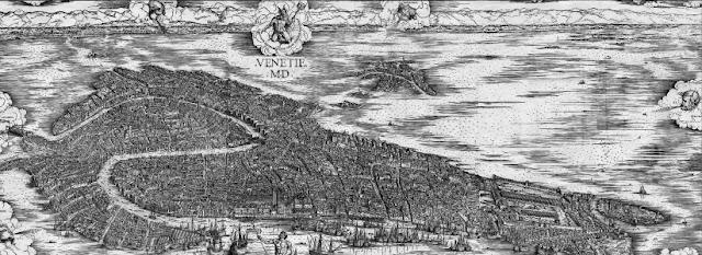 Xilografia di Venezia di Jacopo de' Barbari