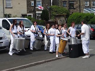 Glossop Samba Band Prince of Wales Pub