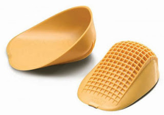 classic yellow heel cups