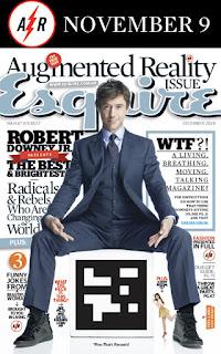 Revista Equire y realidad aumentada. Esmeralda Diaz-Aroca