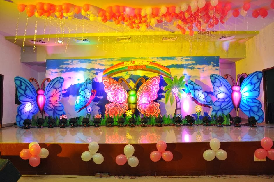 Birthday Decorations Hyderabad Butterfly Theme