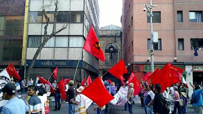 Marcha 18 de marzo contra la reforma energética