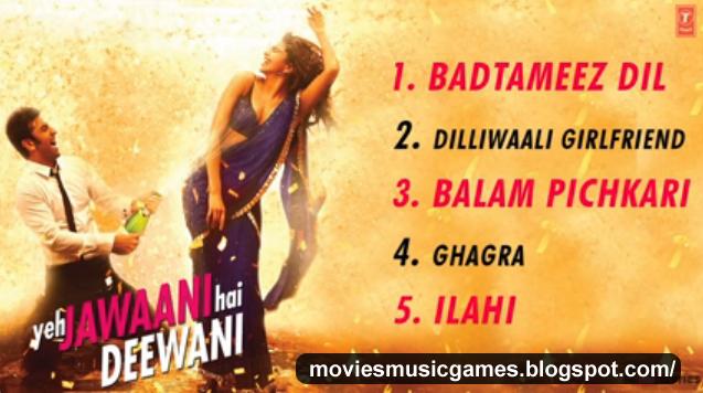 Watch Yeh Jawaani Hai Deewani Movie Full Video Song Online