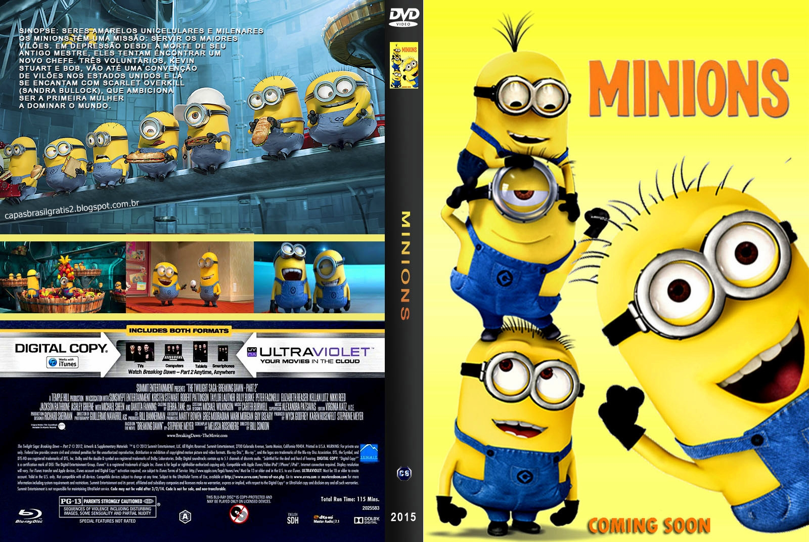 Download Minions DVD-R Minions