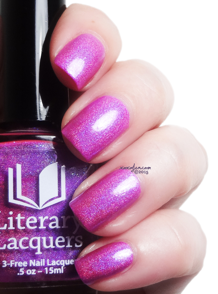 xoxoJen's swatch of Litearry Lacquers Wherever Is Your Heart