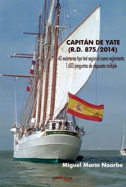 Día del Libro: Capitán de Yate 40 exámenes y 1600 preguntas.