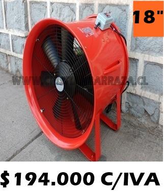 """extractor de aire 18"""""""