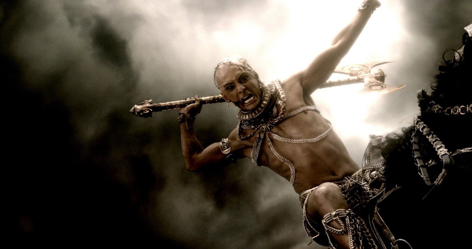 300: Rise of an Empire Rodrigo Santoro as god king Xerxes