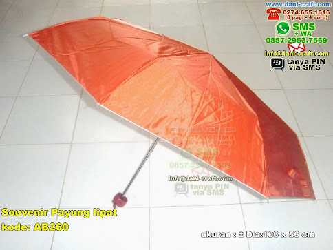 Souvenir Payung Lipat